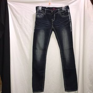Rock&Roll cowgirl skinny jeans size 27x32